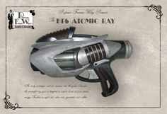 Fantasy ray gun