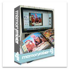 MemoryMixer 4 Digital Scrapbooking Software - On Disk