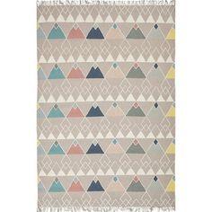 Ručně tkaný vlněný koberec Linie Design Ivalo, 200x300cm