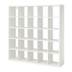 IKEA - KALLAX, Shelf unit, white, Different wall materials require different types of fasteners. Use fasteners suitable for the walls in your home. Two people are needed to assemble this furniture. Hardware for wall mounting included. Storage Furniture, Wall Shelf Unit, Shelves, Ikea Kallax Shelving, Wall Shelves, Shelving Unit, Kallax Shelf, Kallax Shelf Unit, Shelving