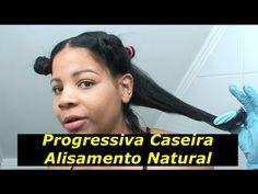 Progressiva Caseira Alisamento Natural Fácil e Rápido Resultado Surpreendente - YouTube