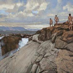 migration Landscape Art, Landscape Paintings, Landscapes, John Meyer, Mount Rushmore, Mountains, Gallery, Nature, Travel