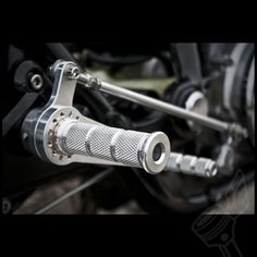 """The DCC Originals """"Fully Indexable"""" Universal Cafe Racer Rearsets   Universal Motorcycle Rearsets"""