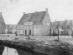 Leede 5 en 7, op de achtergrond het Maarland. Foto Daan van der Wielen.