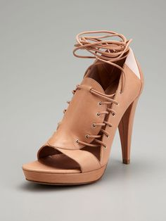 Sigerson Morrison Lace-Up Sandal