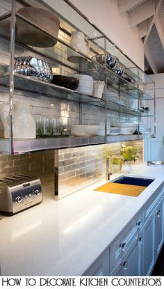 Tips and Tricks for How to Decorate Kitchen Countertops