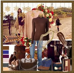 """The Autumn-wind dispels the clouds in the sky"" by biljanamilenkovic ❤ liked on Polyvore"
