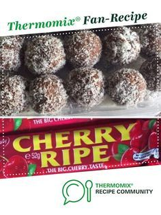 Recipe Cherry Ripe Balls by laurenbrooke, learn to make this recipe easily in your kitchen machine and discover other Thermomix recipes in Baking - sweet. Thermomix Desserts, Dessert Recipes, Condensed Milk Cookies, Bellini Recipe, Party Finger Foods, Homemade Candies, Food N, Sweet Recipes, Desert Recipes
