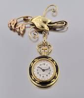 victorian watch pin