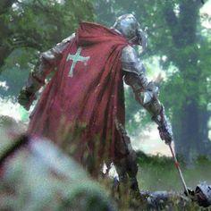 Knight fight, Jakub Javora on ArtStation at Fantasy Concept Art, Fantasy Armor, Fantasy Character Design, Character Art, Medieval Knight, Medieval Fantasy, Dungeons And Dragons, Armadura Medieval, Knight Art