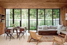 Detalhe sofá varanda