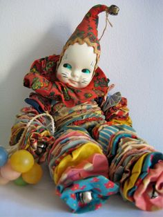 1950's Yoyo Clown Doll. I had one like this.