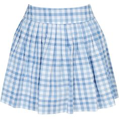 Gingham Pleated Mini (360.065 VND) ❤ liked on Polyvore featuring skirts, mini skirts, bottoms, blue, saias, blue gingham skirt, blue pleated skirt, forever 21, knife-pleated skirts and forever 21 skirts