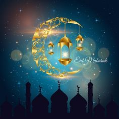 Islamic Ramadan Kareem And Eid Mubarak Card Illustration, Ramadan, Islam, Muslim PNG and Vector Eid Background, Eid Mubarak Background, Vector Background, Background Images, Eid Mubarak Wünsche, Eid Mubarak Images, Eid Images, Images Photos, Muslim Eid