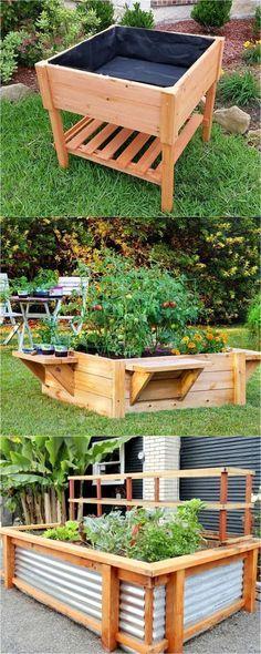 jardiner debout pour plus de confort et pour avoir un r sultat surprenant pinterest. Black Bedroom Furniture Sets. Home Design Ideas