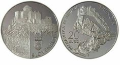 World Coin News: slovakia Gold Bullion, World Coins, Legal Tender, Personalized Items, Silver, News, The World, Coins, Castles