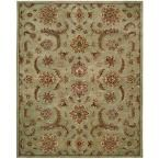 India House Light Green 8 ft. x 10 ft. 6 in. Area Rug