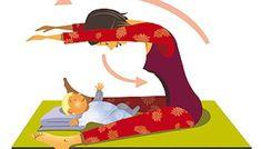 Exercices pour récupérer la ligne avec bébé