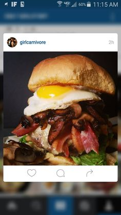 Please tell me I'm not the only one who loves a crazy good burger.  All the behind the scenes action happening over at Instagram.