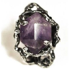 Maniamania Abbey Lee Immortal Ring in Silver and Amethyst