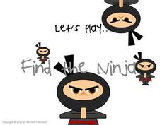 "Use the free downloadable interactive game ""Find the Ninja"" to help students learn silent consonants w, h, gh, and b. #edchat #educhat #studyfun #english"