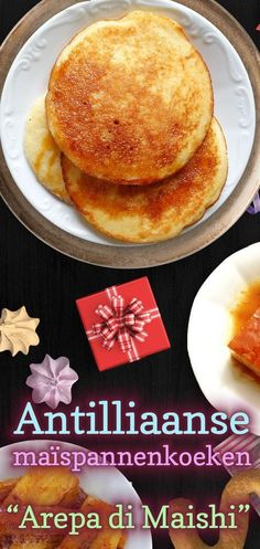 Corn Pancakes, Tasty Pancakes, Other Recipes, Sweet Recipes, Comida Latina, Caribbean Recipes, Lunch Snacks, Desert Recipes, Gluten Free Recipes