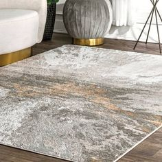 Shop Carbon Loft Brendt Contemporary Modern Abstract Area Rug - Overstock - 27538971 - x - Silver Construction, Rugs Usa, Round Rugs, Contemporary Rugs, Outdoor Area Rugs, Online Home Decor Stores, Online Shopping, Rug Making, Colorful Rugs