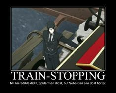 Black Butler meme | PROTIP: Press the ← and → keys to navigate the gallery, 'g' to ...