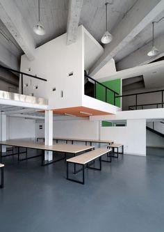 Offices by Had Architects (design team: Tang Jiajun, Wang Conglong), 2013, Harbin-Heilongjiang-China