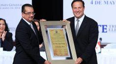 Nuevo Presidente de PANAMA para el periodo de 2014 2019, muchos exitos Ing. Juan Carlos Varela bendicioness