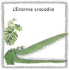 L'énorme crocodile Crocodiles, Green Beans, Bag, Livres, Paper, Crocodile