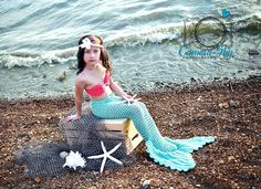 The beachiest of mermaid looks! Beach Portraits, Mermaid, Outdoor Decor, Fun, Home Decor, Homemade Home Decor, Decoration Home, Interior Decorating, Funny