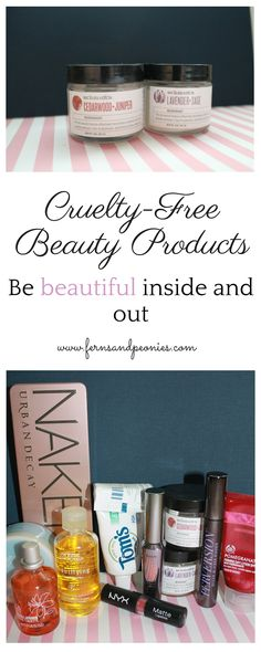 Cruelty-free beauty product regimen—living a compassionate lifestyle with www.fernsandpeonies.com