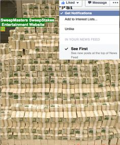 Join Me on #Facebook For #Sweepstakes and More Fun and #Money Saving Ideas https://www.facebook.com/SweepMastersSweepstakes Daily Posting Of New #Contests Cell APP #Giveaways and #Free Stuff Finds