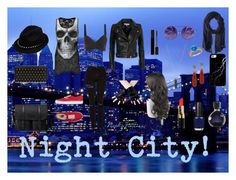 """""""Night City!"""" by nathajimenez on Polyvore featuring moda, Alexander McQueen, Gucci, Lord & Taylor, Vans, IRO, Topshop, Bobbi Brown Cosmetics, Lacoste y OPI"""