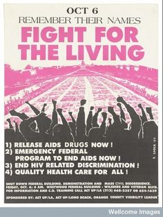 Other organisations like ACT-UP used posters to galvanise activists into calling for better healthcare and drugs for HIV-positive people. It wouldn't be until 1996, after millions had already died, that effective anti-retrovirals arrived.   These Posters Show What AIDS Meant In The 1980s