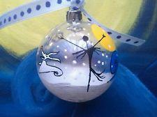 Jack Skellington Hand painted baubles nightmare before christmas tree decoration