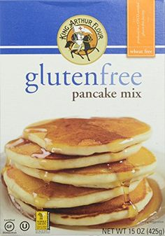 King Arthur Gluten Free Pancake Mix 15 Ounce >>> Want additional info? Click on the image.(This is an Amazon affiliate link)
