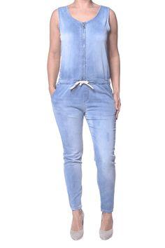 Jumpsuit jogging jeans shop je voordeling online bij Kenza Moda. Eenvoudig besteld en snel geleverd!