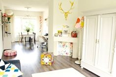 International Inspiration: 15 Small, Stylish Homes Around the World.  Kate's wonderfully small Amsterdam space