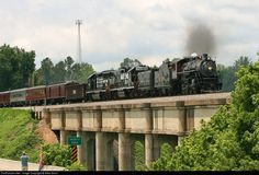 RailPictures.Net Photo: SOU 630 Norfolk Southern Steam 2-8-0 at Gaffney, South Carolina by Allen Bunn