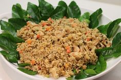 This was a tasty and healthy fried rice recipe. It uses pad Thai ingredients (bean sprouts, fish sauce, and peanuts). Pad Thai Ingredients, Rice With Beans, Healthy Fried Rice, Bean Sprouts, Fish Sauce, Rice Recipes, Peanuts, Spicy, Tasty