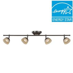 aspects madison 4light oilrubbed bronze dimmable fixed track lighting kit