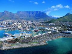 The Table Bay Hotel Cape Town - Aerial View