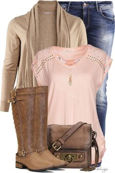 Jersey Lace T Shirt With HM Cardigan Casual Outfit