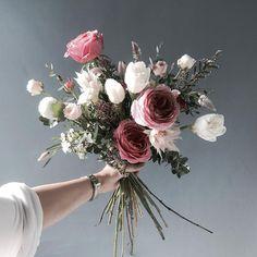 👉🏻Katalk ID - Brautsträuße - Blumen Bunch Of Flowers, Fresh Flowers, White Flowers, Flowers Today, Floral Wedding, Wedding Bouquets, Wedding Flowers, Boho Wedding, Flower Bouquets