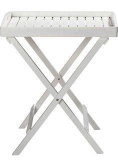 Kodin1  - ANNO Apupöytä ja tarjotin 45x60cm | Pihapöydät ja parvekepöydät