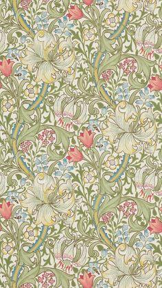 William Morris Wallpaper, William Morris Art, Morris Wallpapers, Fabric Wallpaper, Wallpaper Roll, William Morris Patterns, Motif Art Deco, Motif Vintage, Art Graphique
