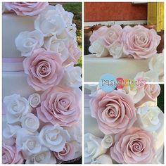 #pastelicious #gumpaste #roses
