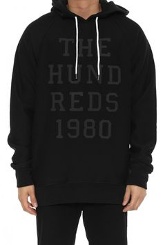 Levy Pullover Hood Black
